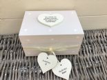 Shabby Personalised Chic In Memory Of A BROTHER Loved One Keepsake Box ANY NAME - 232993492212